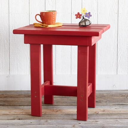 ADIRONDACK CAMP SIDE TABLE
