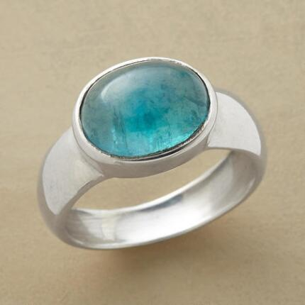 BEYOND BLUE APATITE RING