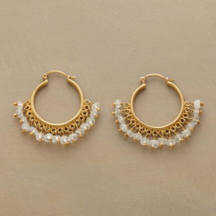 ORION MOONSTONE HOOPS