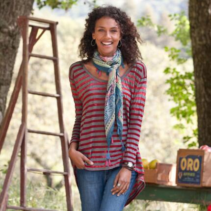 VINEYARD STRIPE TUNIC