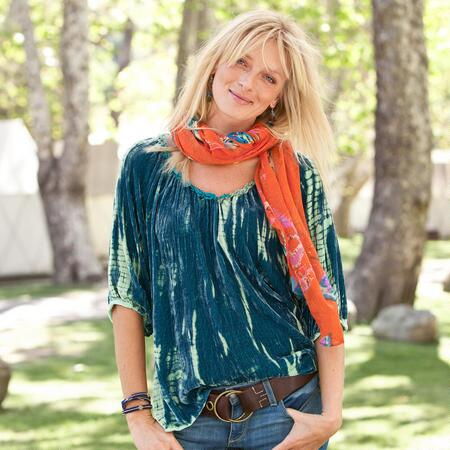 TIE DYE ALL HOURS TUNIC