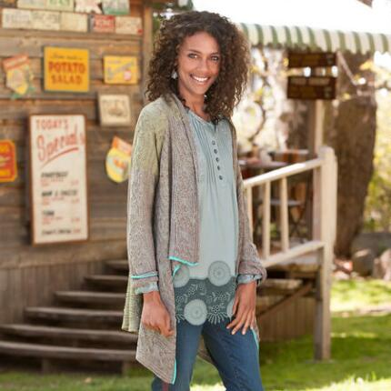 GRACEFUL WILLOW CARDIGAN