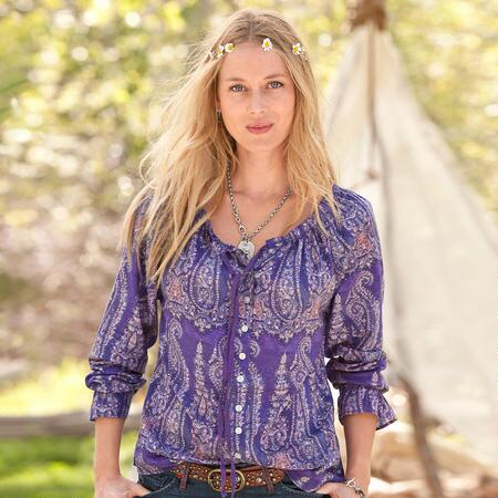 ALLURING GLANCE BLOUSE