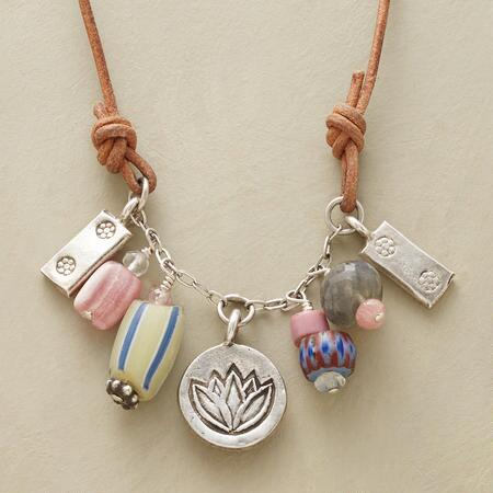 TRADE BEAD TREASURE NECKLACE