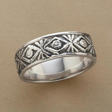TRIBAL TRIBUTE RING