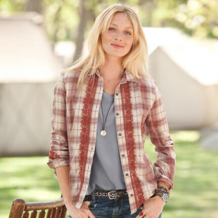 CHELSEA PLAID SHIRT