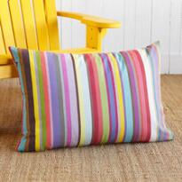 BASQUE COUNTRY LARGE STRIPED PILLOW (FG)