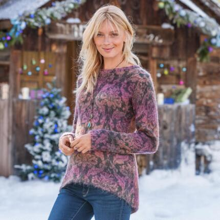 DAMASK SUNRISE PULLOVER