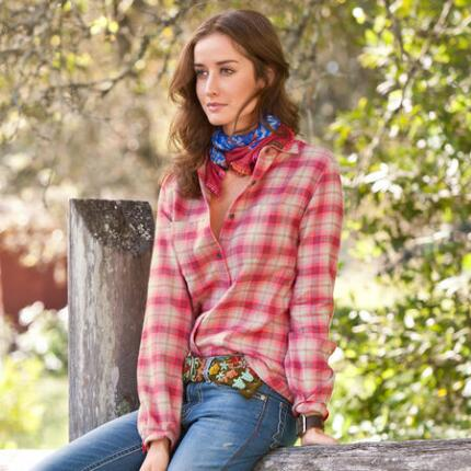 WESTERN SKIES PLAID SHIRT