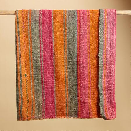 ONE OF A KIND BOLIVIAN VALLEGRANDE THROW