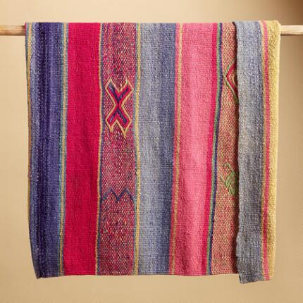 ONE OF A KIND BOLIVIAN AYOPAYA THROW