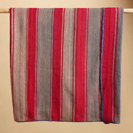 ONE OF A KIND BOLIVIAN QUILLACOLLA THROW