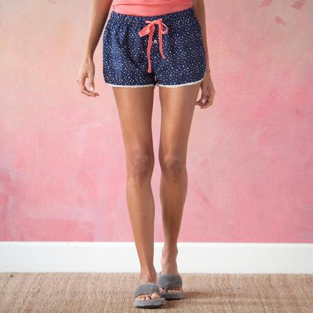 NIGHTS IN THE NAVY SLEEP SHORTS