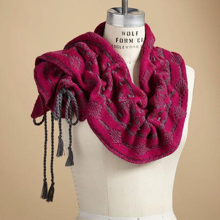 MULBERRY RUFFLE SCARF