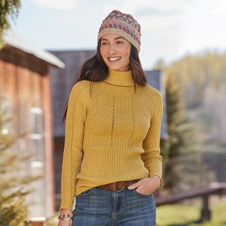 TOASTY DIMENSIONS TURTLENECK - PETITES