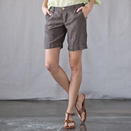 C P SHADES BOARDWALK LINEN SHORTS