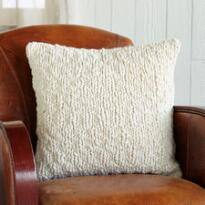 HOMESPUN CHUNKY KNIT PILLOW
