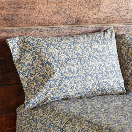 BALTIC BLUE PILLOW CASES, SET OF 2