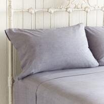 COLORWEAVE LINEN PILLOWCASES, SET OF 2