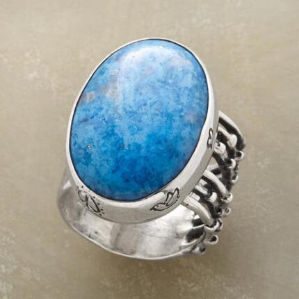 A blue lapis ring that you'll find yourself reaching for every day.