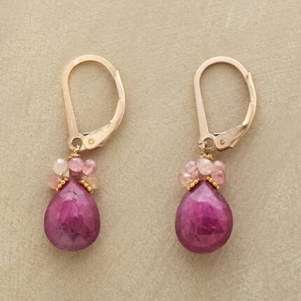 RUBY EMBERS EARRINGS