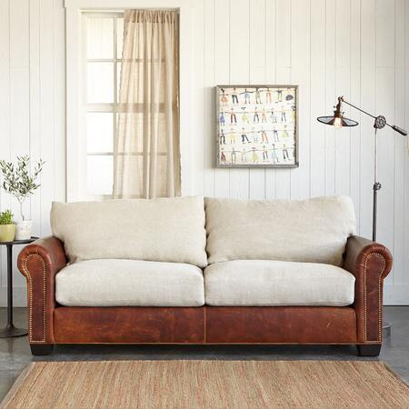 LANDON LEATHER SOFA