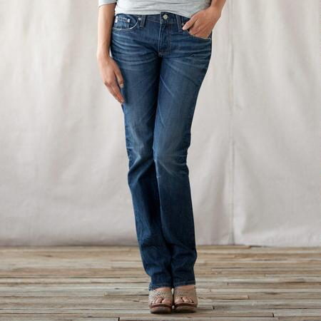 A G PIPER SLOUCHY SLIM JEANS