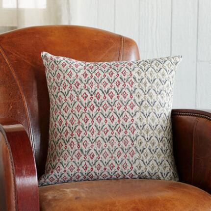 HOMESPUN BLOCKPRINT PILLOW