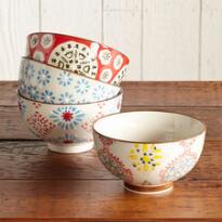 BOHEME BOWLS, SET OF 4