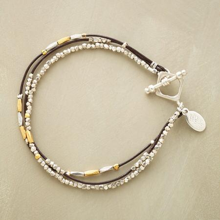 LEATHER LASSO BRACELET