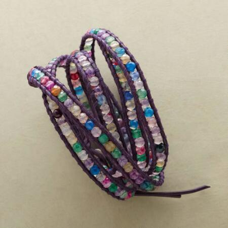 COLORWHEEL 5 WRAP BRACELET