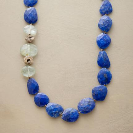 LAPIS PEBBLE NECKLACE
