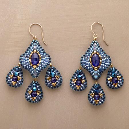 BLUE DANUBE EARRINGS