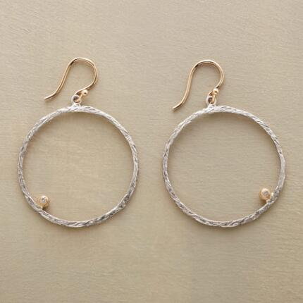 BRIGHTSTAR HOOP EARRINGS