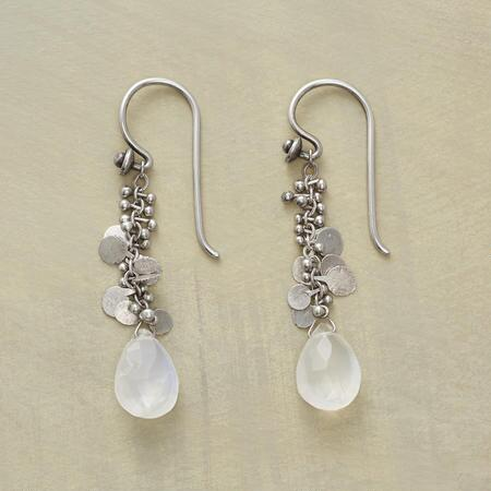MOONSTONE GARLAND EARRINGS