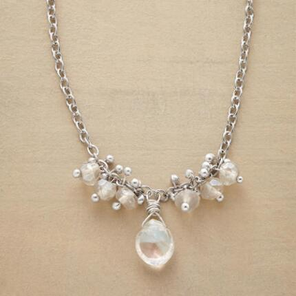 MANY A MOONSTONE NECKLACE