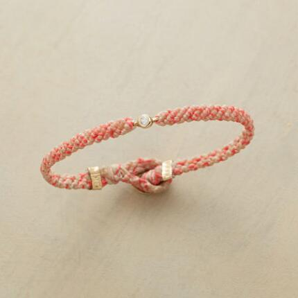 PINK TRESSES DIAMOND BRACELET