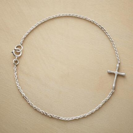 CHERISHED CROSS BRACELET