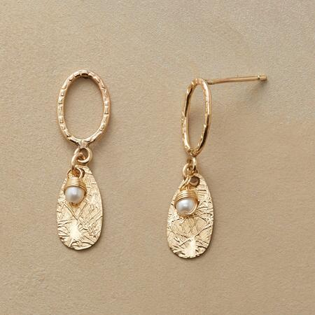 STRAW INTO GOLD EARRINGS