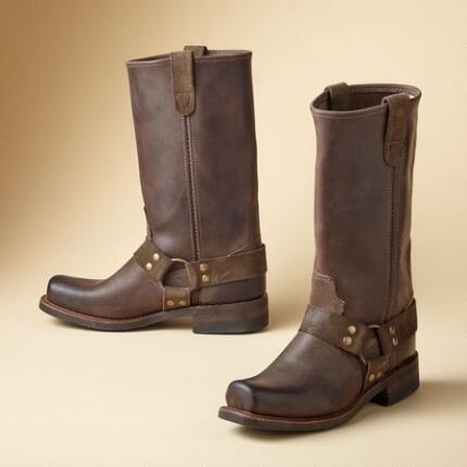 LILITH VINTAGE HARNESS BOOTS