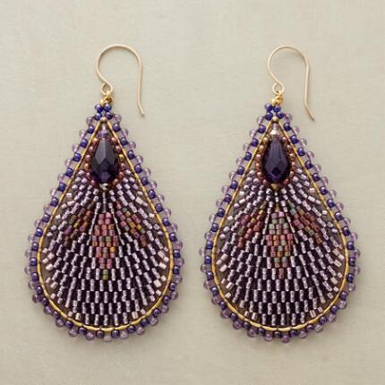 PAISLEYESQUE EARRINGS