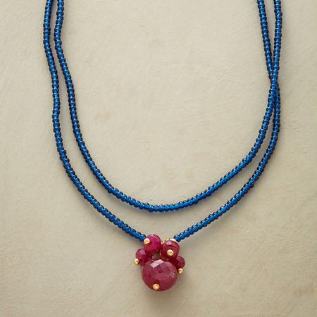 ROYALS AND RUBIES NECKLACE