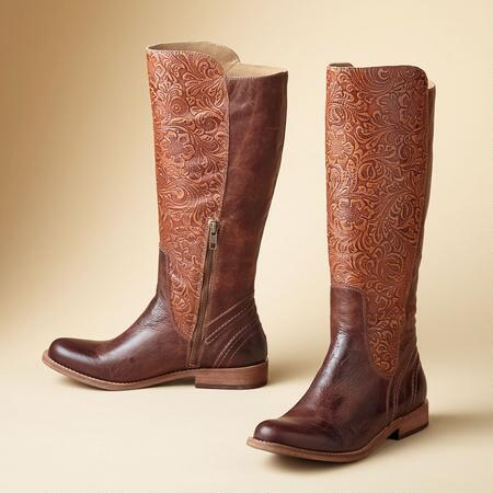 VIRGINIA TOOLED BOOT