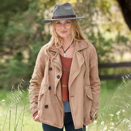 GRAND ADVENTURE CANVAS COAT