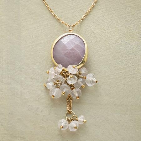 PINK FROTH NECKLACE
