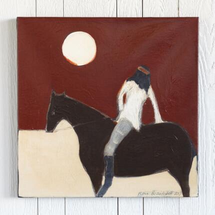 APACHE ON A HORSE
