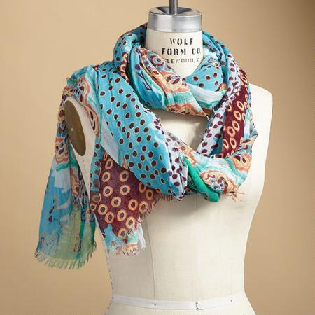 BLOSSOM WAVE SCARF