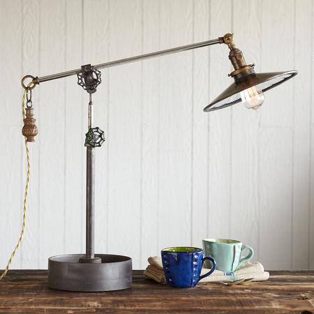 BETHLEHEM STEEL LAMP