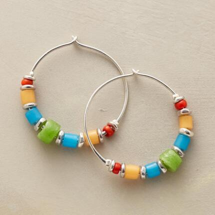 REVELRY HOOP EARRINGS