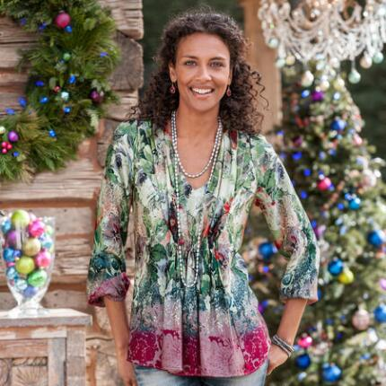 SUGARPLUM GARDEN BLOUSE